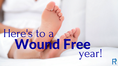 Here's to a Wound Free year!