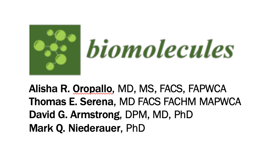 Molecular Biomarkers of Oxygen Therapy in Patients with Diabetic Foot Ulcers